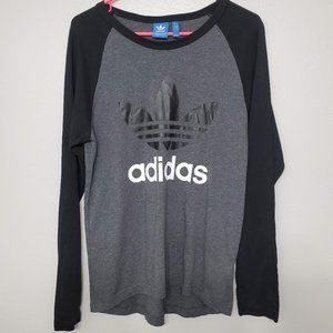 Adidas Original Long Sleeves Spellout Shirt